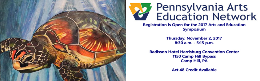 Arts and Education Symposium banner2