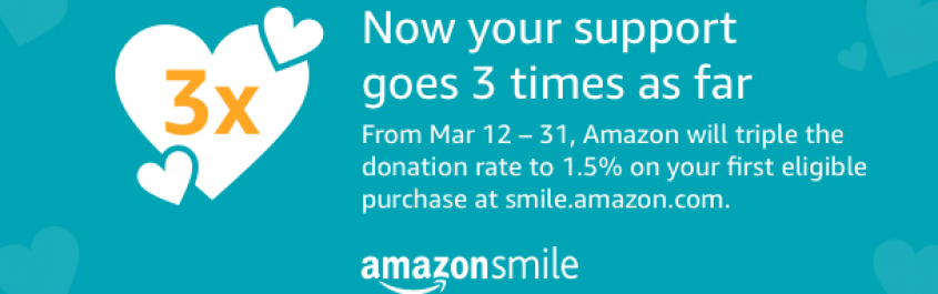 Amazon Smile March 18