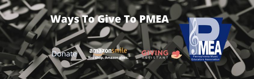 Give to PMEA Slider